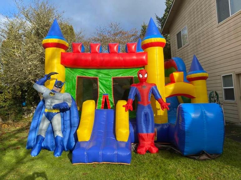 Combo Castle bounce house rental