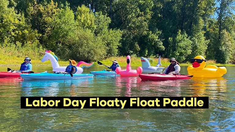 Labor Day Floaty Float Paddle