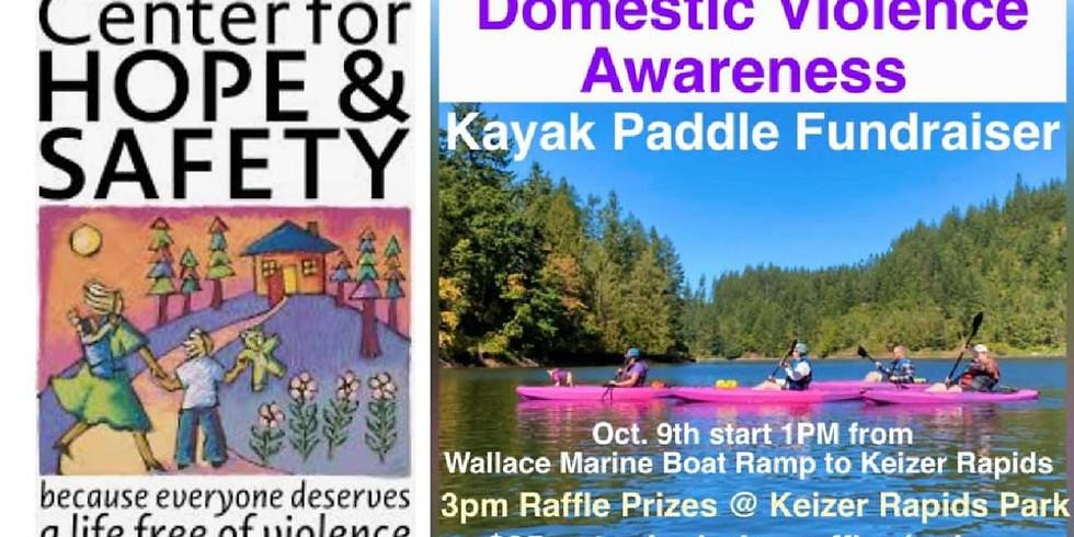 Domestic Violence Awareness Kayak Paddle & Fundraiser