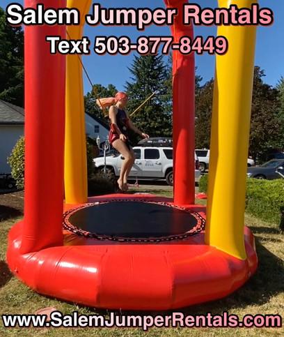 Inflatable Bungee Jumper by Salem Jumper Rentals