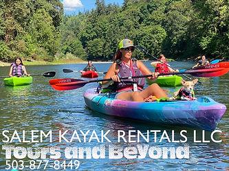 Salem Kayak Rentals LLC Tour Guide Shannon