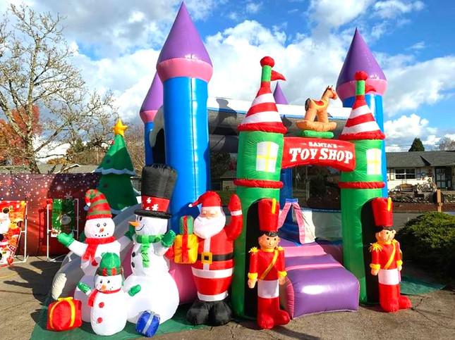 Christmas Slide