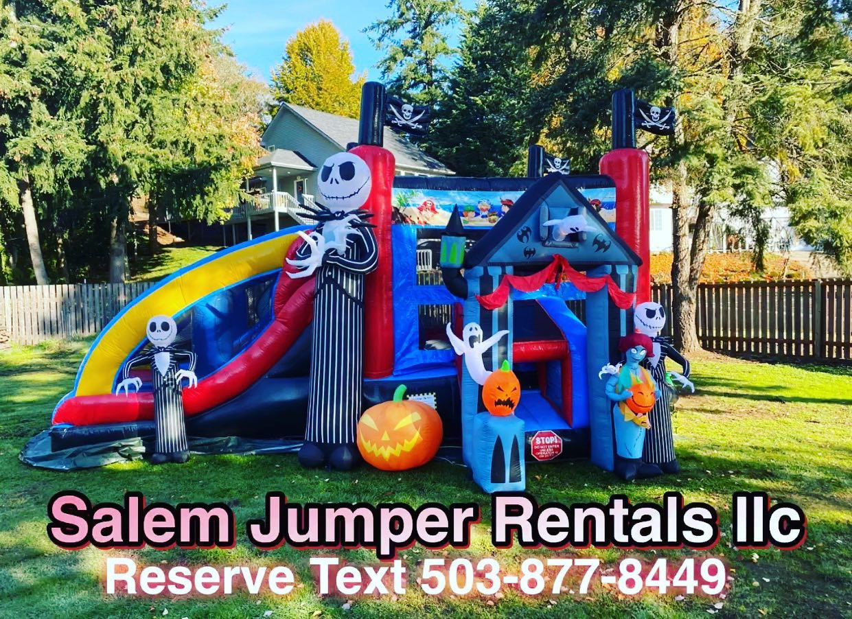 Nightmare B4 Xmas theme Bounce House Rentals