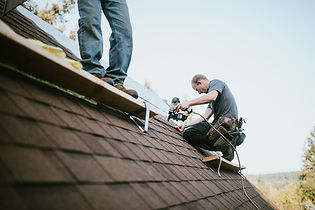CRE Roof Masters of Conroe TX Working on