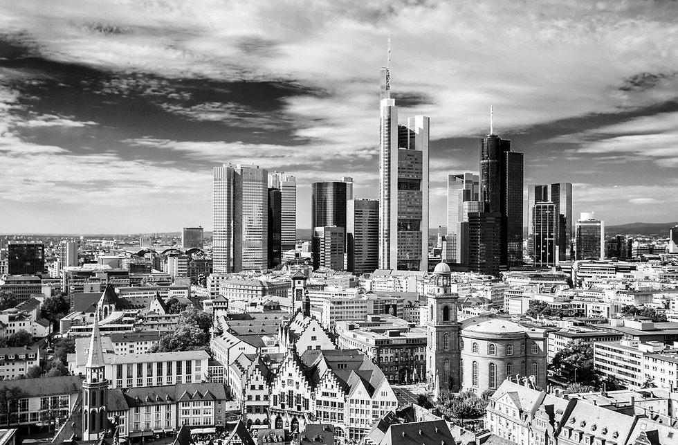 Skyline Frankfurt Akademie KRAFTWERK