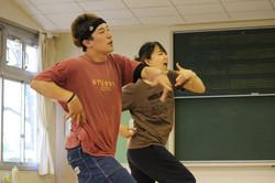 「ミコりん2」稽古風景