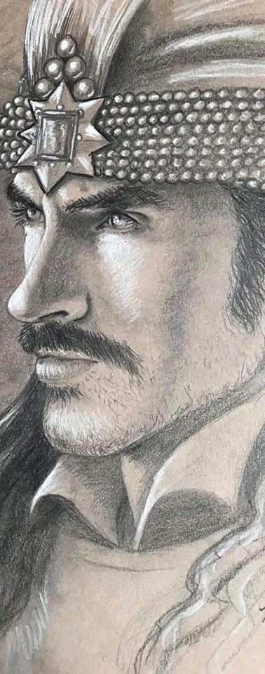 Vlad Tepes Portrait