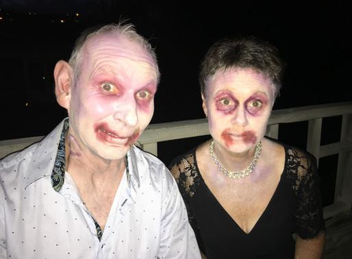 Basic Zombie Costume and Make Up