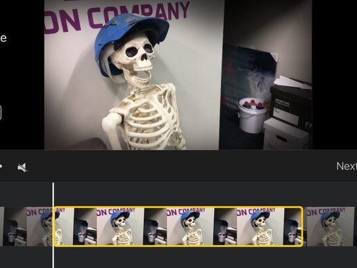 Making iMovie Trailers with Kids