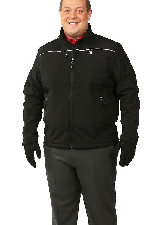 Male Softshell Jacket - Black