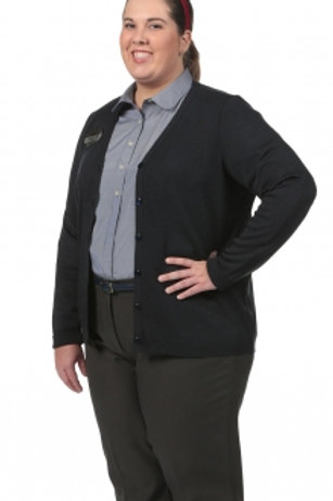 Female Florence V-Neck Cardigan LS