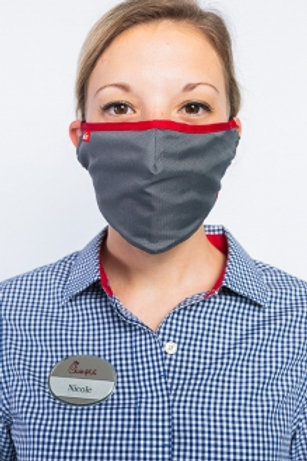 Odessa Adjustable Face Covering - Charcoal