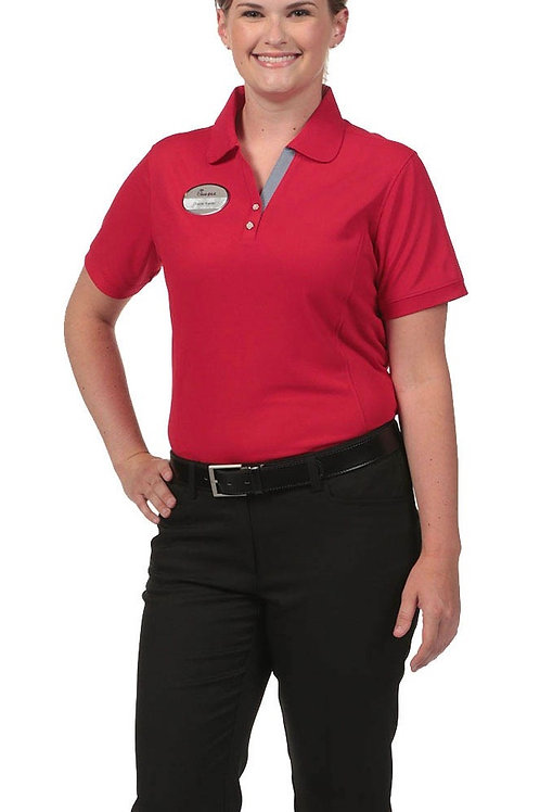 Female Polo - Red