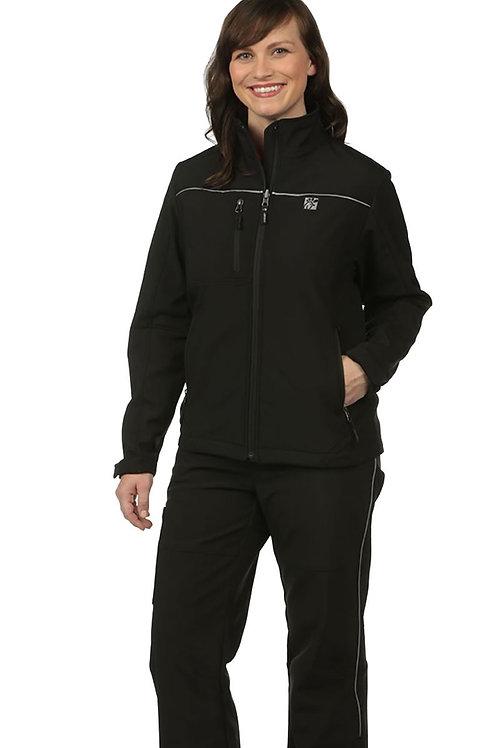 Female Softshell Jacket - Black