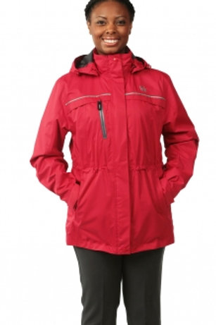 Female Parka Jacket - Red