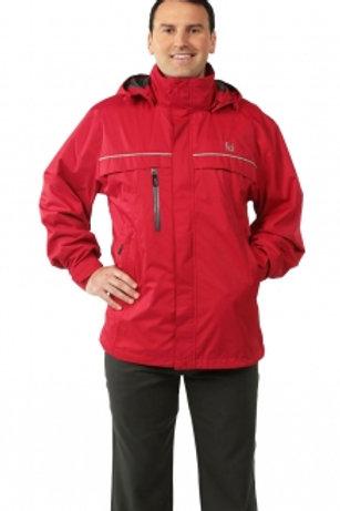 Male Parka Jacket - Red