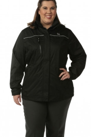 Female Parka Jacket - Black