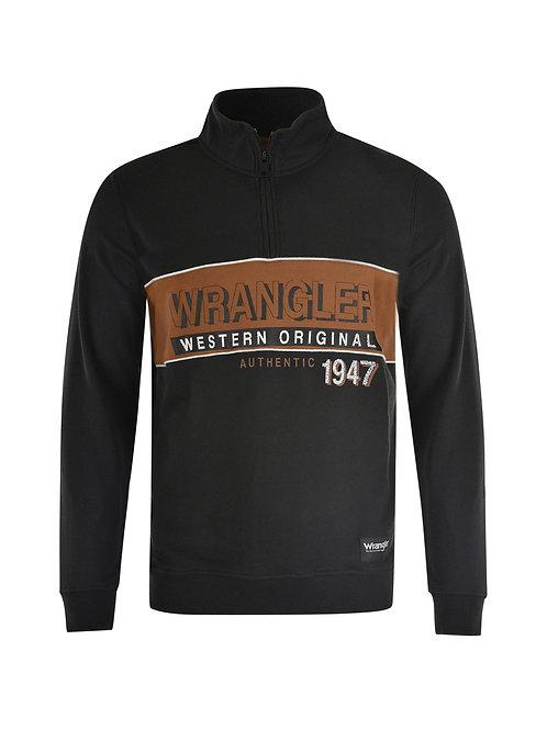 Wrangler Mens Daniel Qtr Zip Pullover