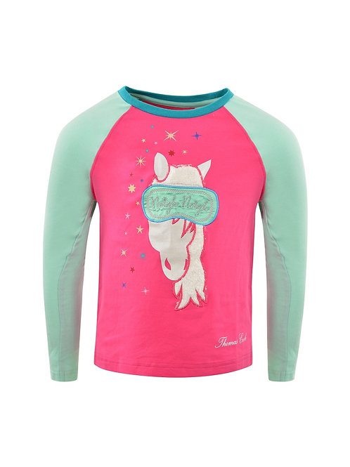Thomas Cook Girls Glow In The Dark Neigh Neigh Horse PJ's