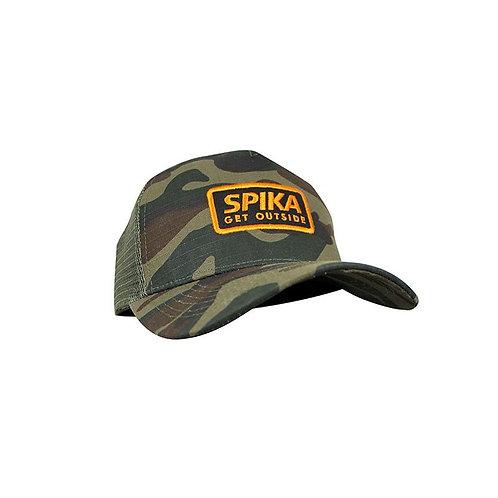 Spika Canvas Camo Trucker Cap