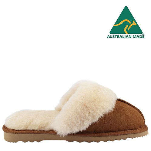 Bondi Ugg Wool Collar Sheepskin Scuff