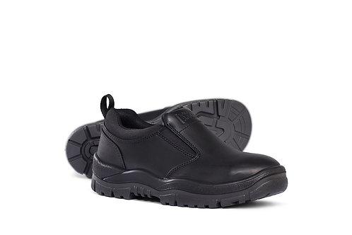 Mongrel Black Slip On Shoe
