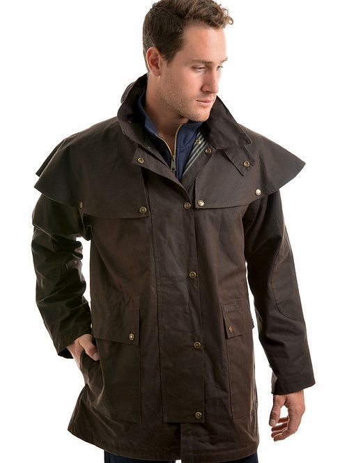 Thomas Cook High Country Professional Oilskin Short Coat