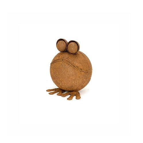 Alfresco Gardenware Small Round Rust Frog