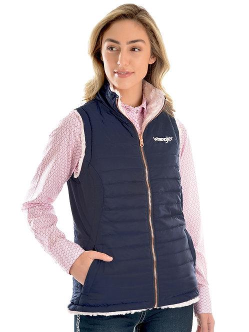 Wrangler Womens Amy Reversible Vest