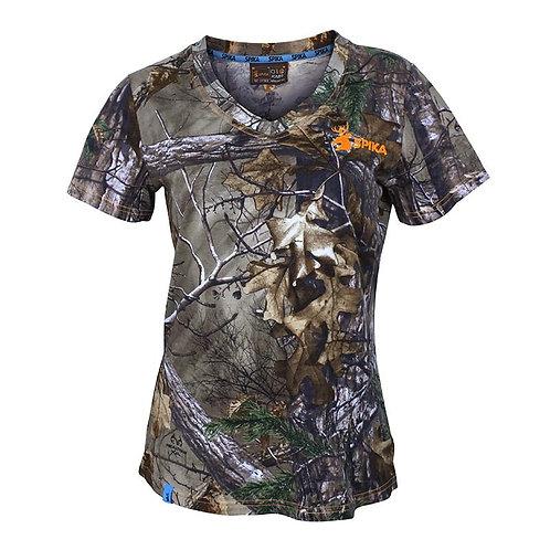 Spika Womens Camo Trail T-Shirt