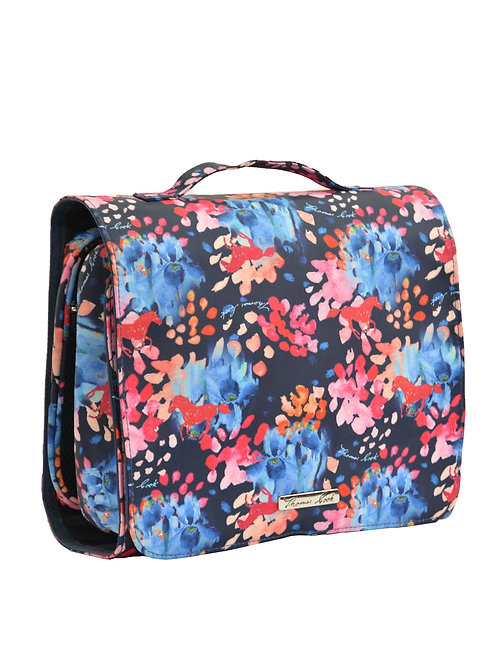Thomas Cook Fold Out Cosmetic Bag - Floral