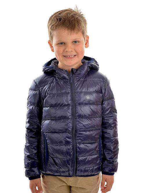 Thomas Cook Kids Puffa Jacket - Navy