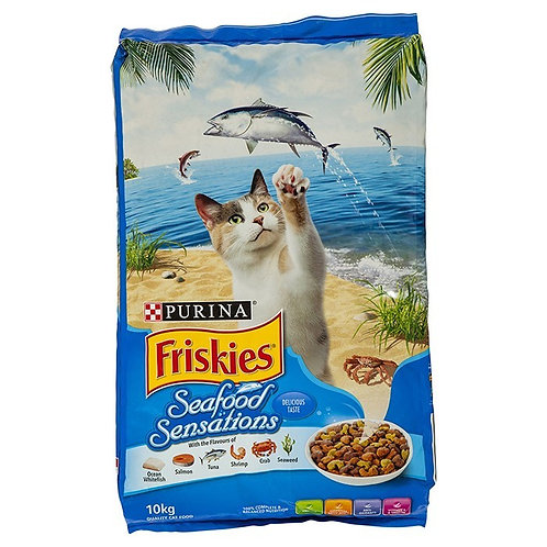 Friskies Seafood Sensation Dry Cat Food