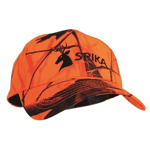 Spika Blaze Orange Camo Cap