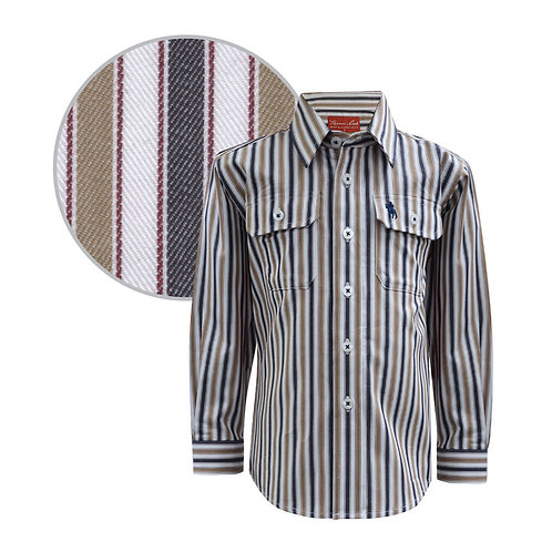 Thomas Cook Boys Cootharaba Stripe Shirt