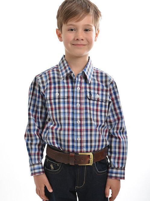 Thomas Cook Boys Mitchell Check L/S Shirt