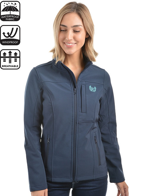 Wrangler Womens Logo Soft Shell Jacket