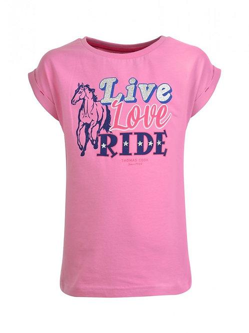 Thomas Cook Girls Live Love Ride Tee