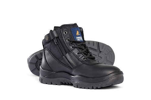 Mongrel Black ZipSider Boot