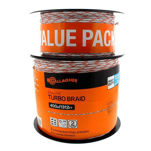 Gallagher 3.5mm Turbo Braid Value Pack 535m
