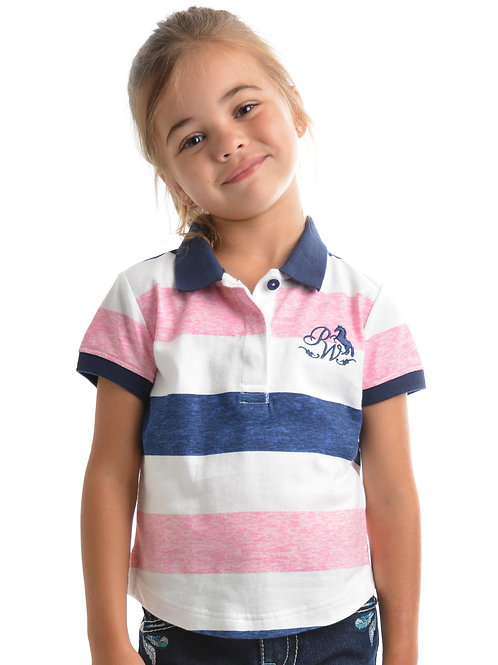 Pure Western Girls Adley S/S Polo