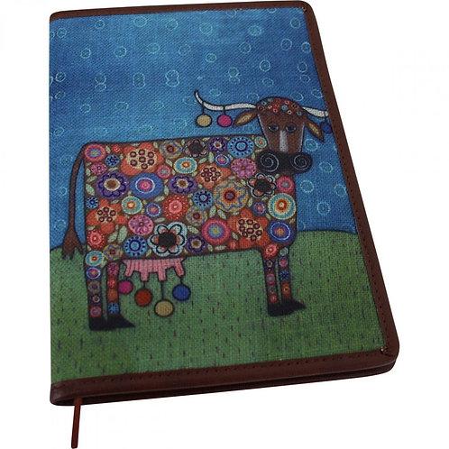 Lavida Small Notebook - Cow