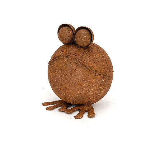 Alfresco Gardenware Large Round Rust Frog