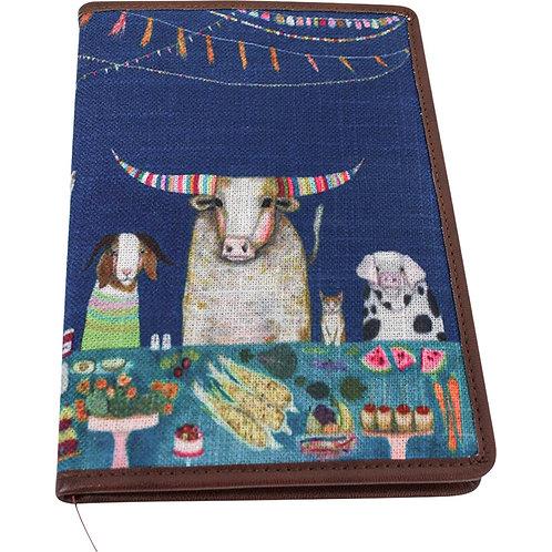 Lavida Small Notebook - Jazzy Cow