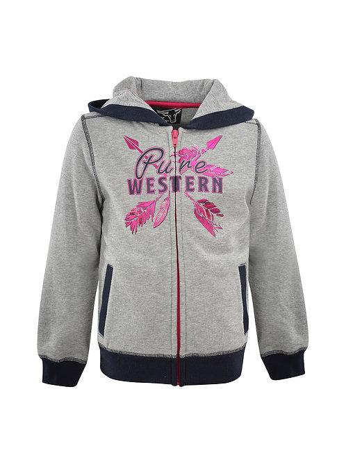 Pure Western Girls Priscilla Zip Through Hoodie