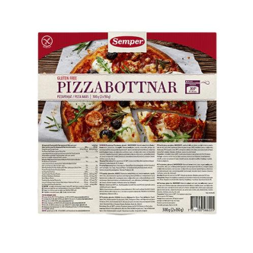 SEMPER PIZZA BASES 300g
