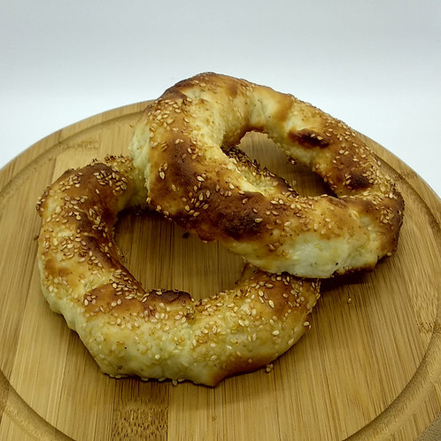 Greek Sesame Bread Rings 2x95gr