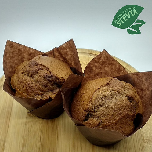 Chocolate Muffins with Stevia 2x90gr