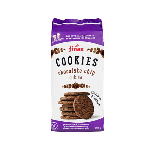 FINAX CHOCOLATE CHIP COOKIES 150g