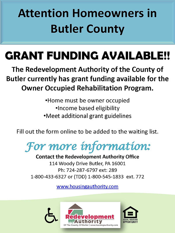 Owner Occupied General Butler County Fly